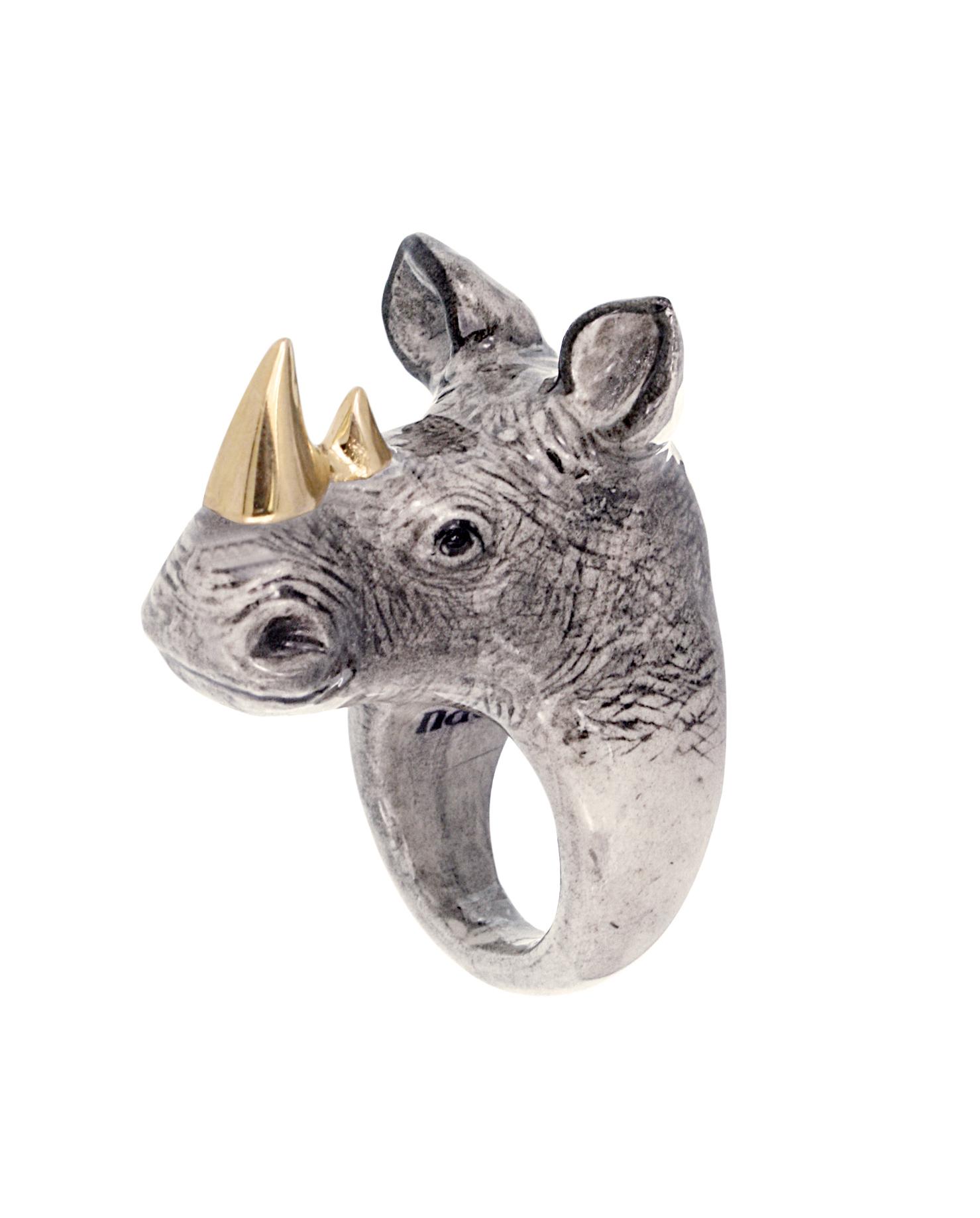 nach bijoux  B-55 Gold Rhino.jpg