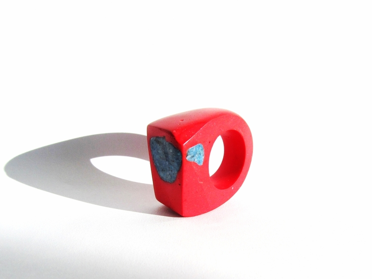 Jade Mellor Hewn Ring