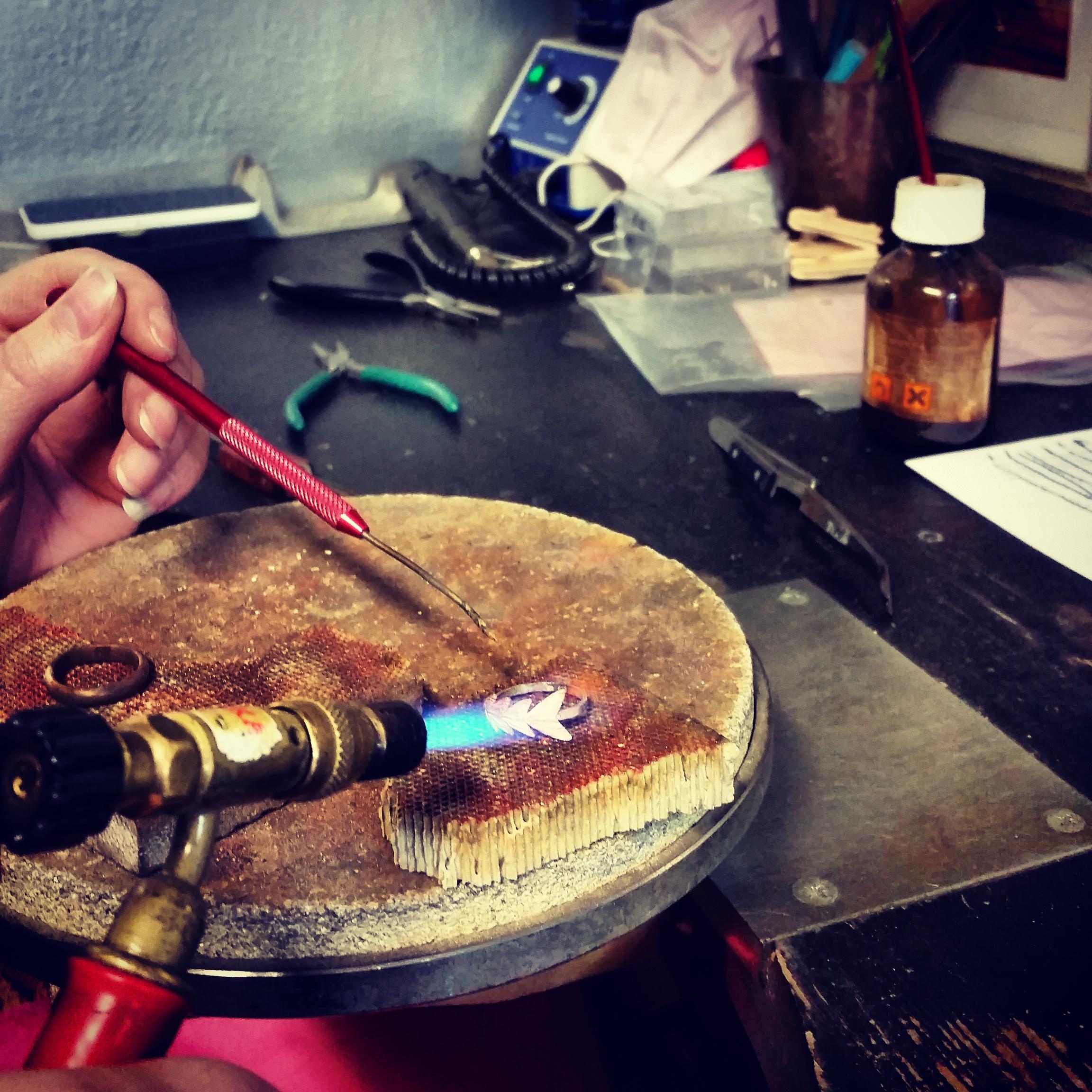 Aurum jewellery handmade in Reykjavik