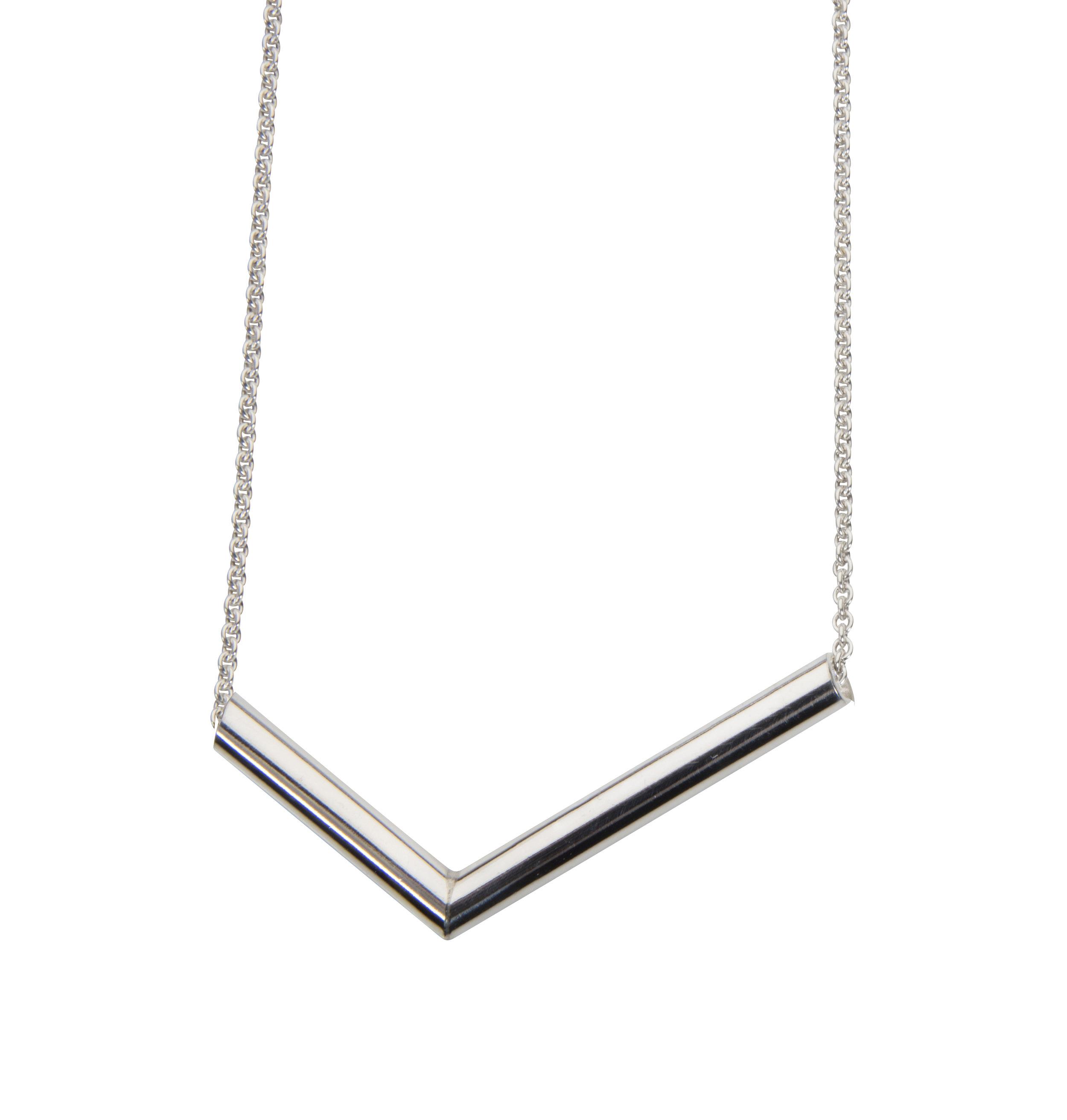 Emma Farquharson 108 degree angle pendant silver shiny.jpg
