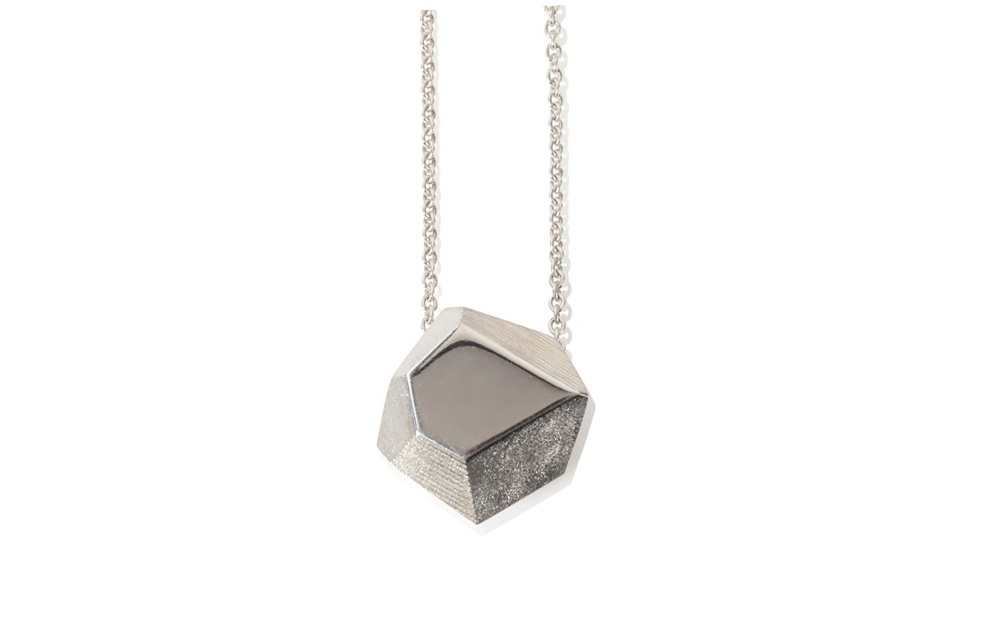 Emma Farquharson silver medium Faceted pendant.jpg