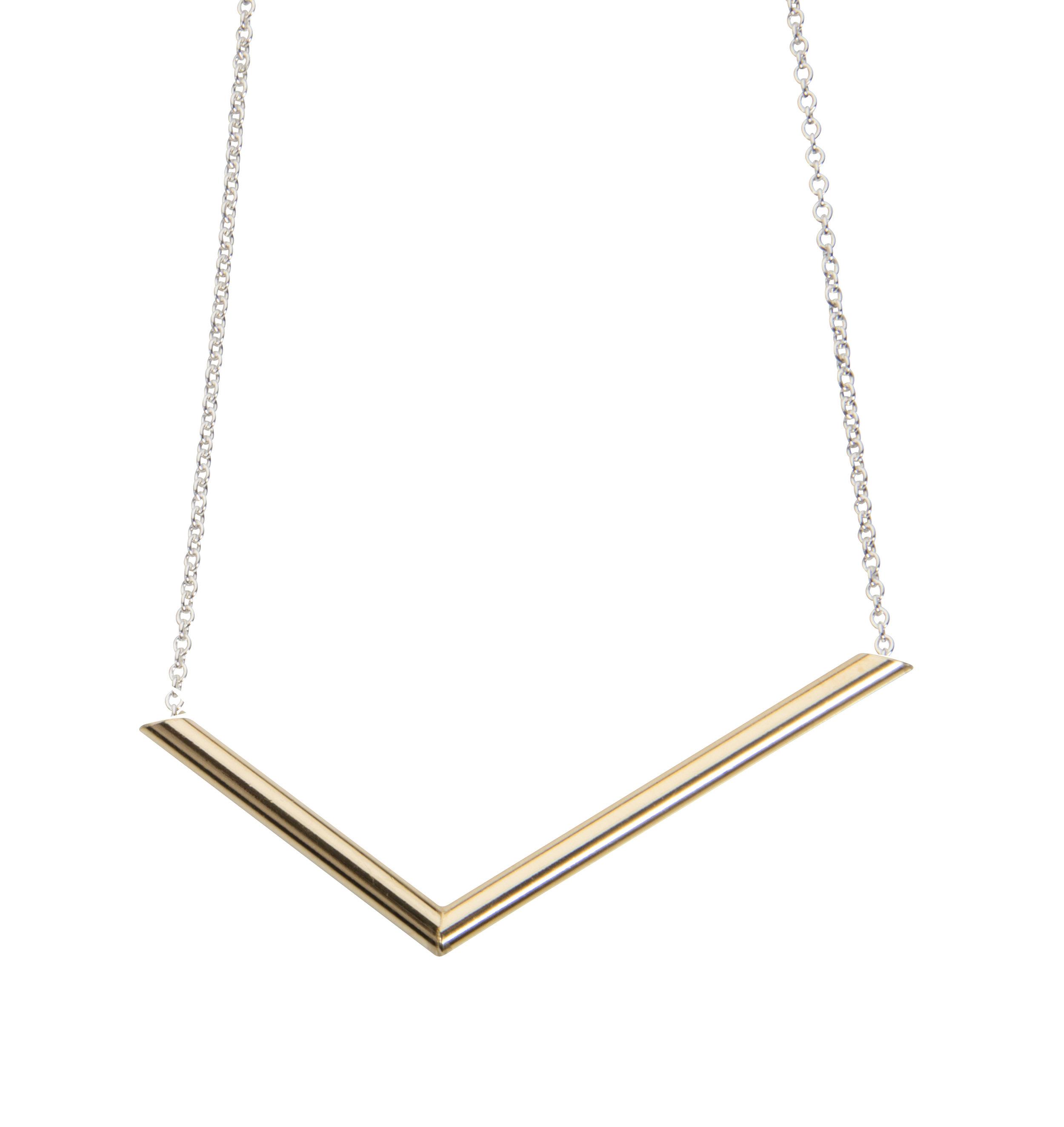Emma Farquharson gold plated small angle pendant.jpg
