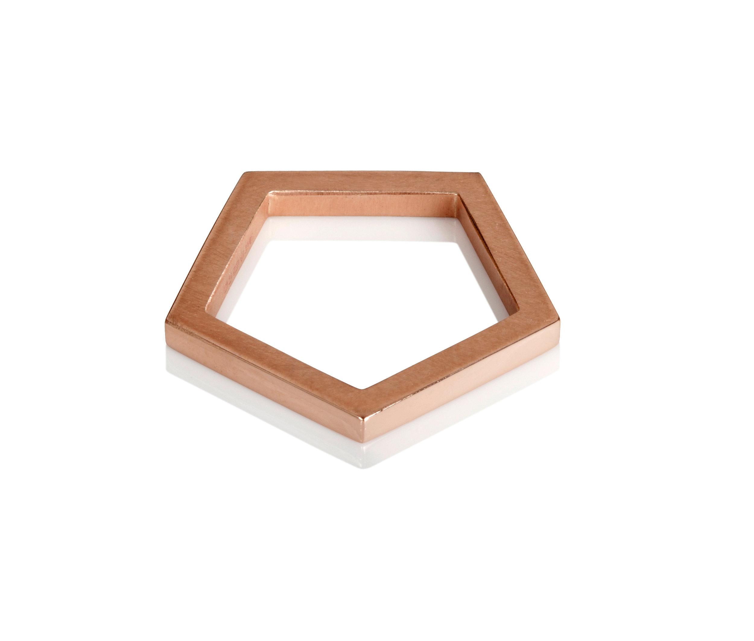 Emma Farquharson Rose gold pentagon ring .jpg