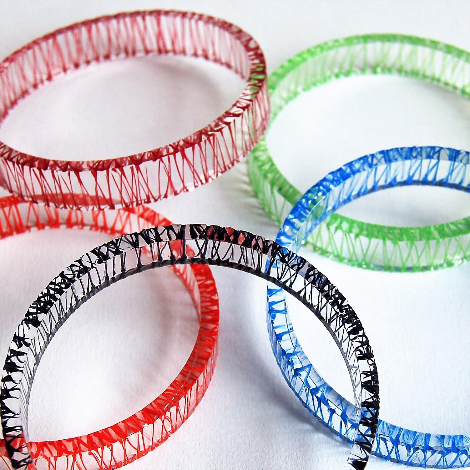 Sarah Packington multi colour wired bangles 01.jpg