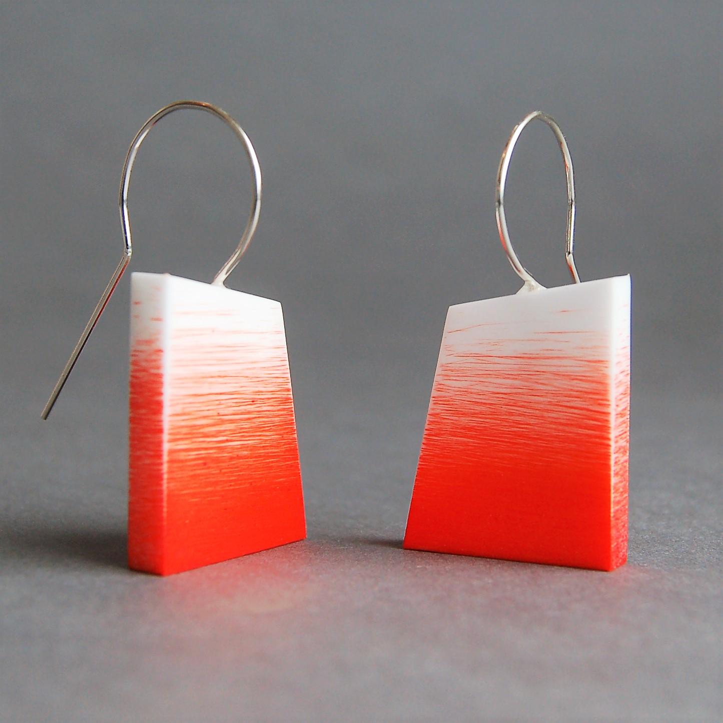 Sarah Packington orange graffiti earrings .jpg