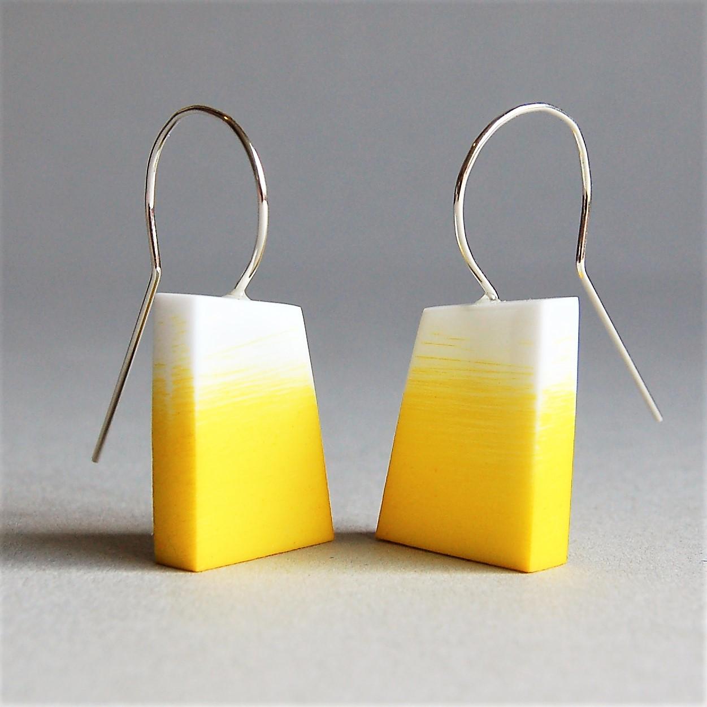 Sarah Packington yellow graffiti earrings .jpg
