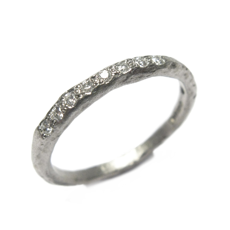 Diana Porter  ring available in platinum, palladium and gold