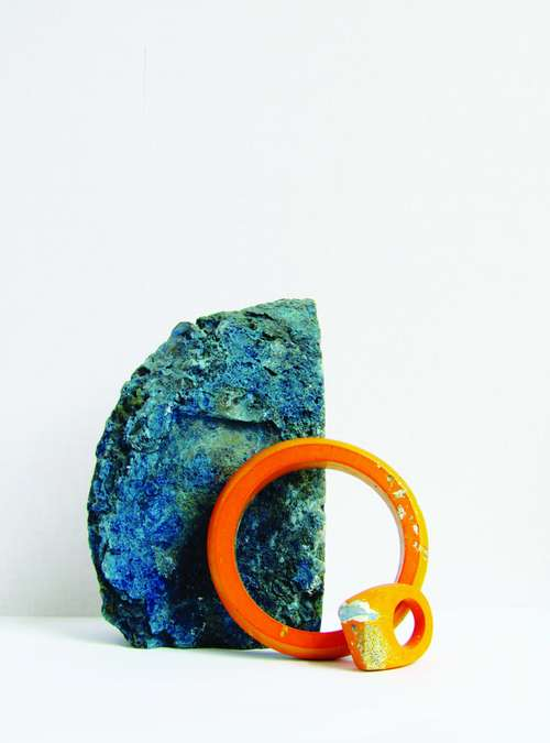 Jade Mellor's colourful pieces find their inspiration in rocks and minerals