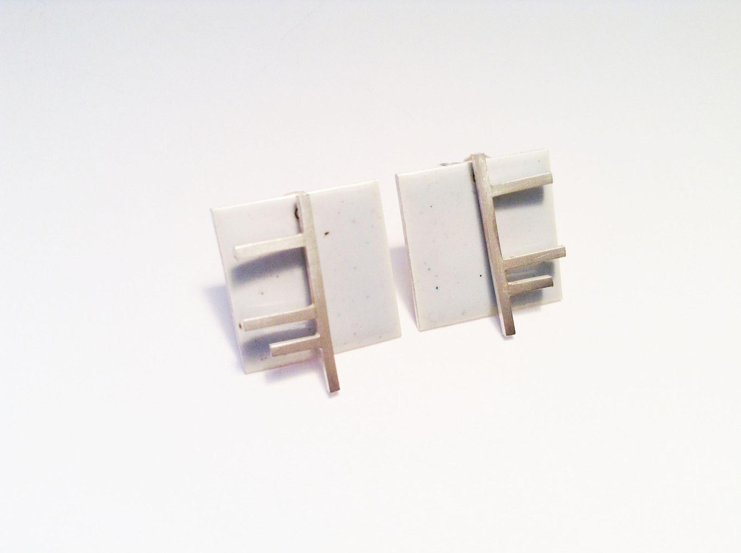 Rachel Butlin - Square enamel earrings - White (1).jpg