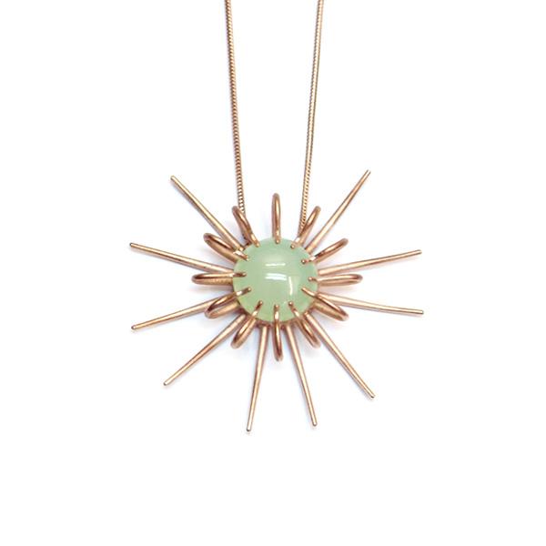 Rhiannon Emma Jewellery - Rose gold vermeil chalcedony necklace.jpg