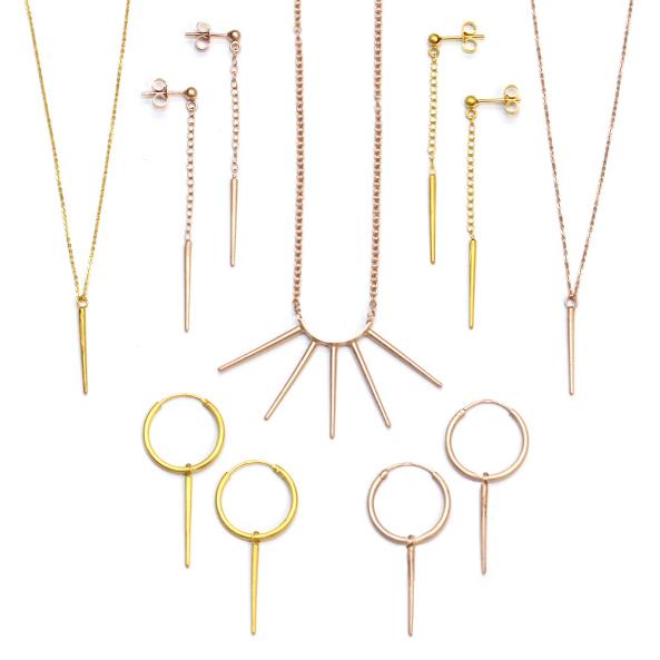 Rhiannon Emma Jewellery - Gold Vermeil Aulacantha collection.jpg