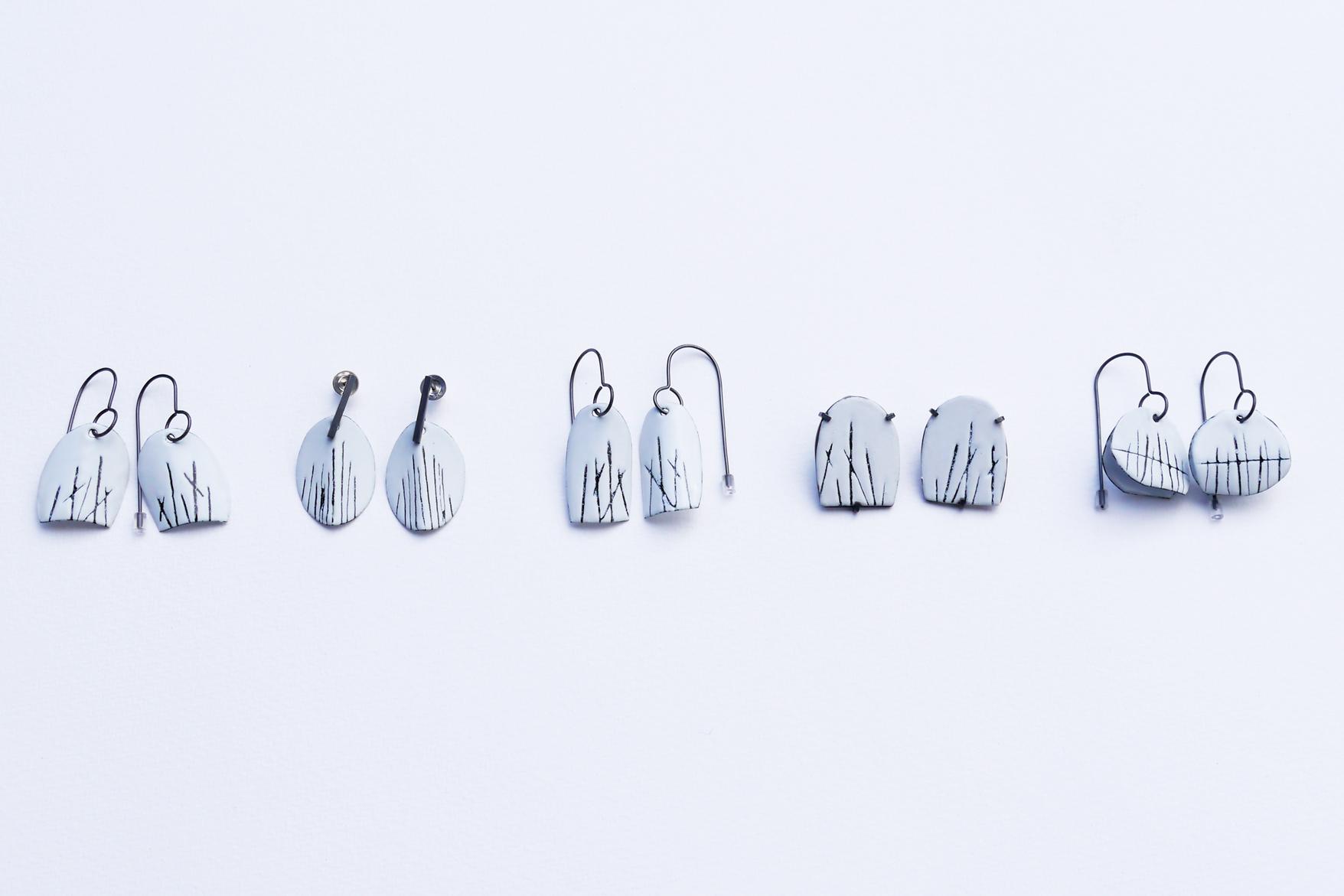 MIZUKI TAKAHASHI MARK-MAKING ENAMEL EARRINGS.jpg