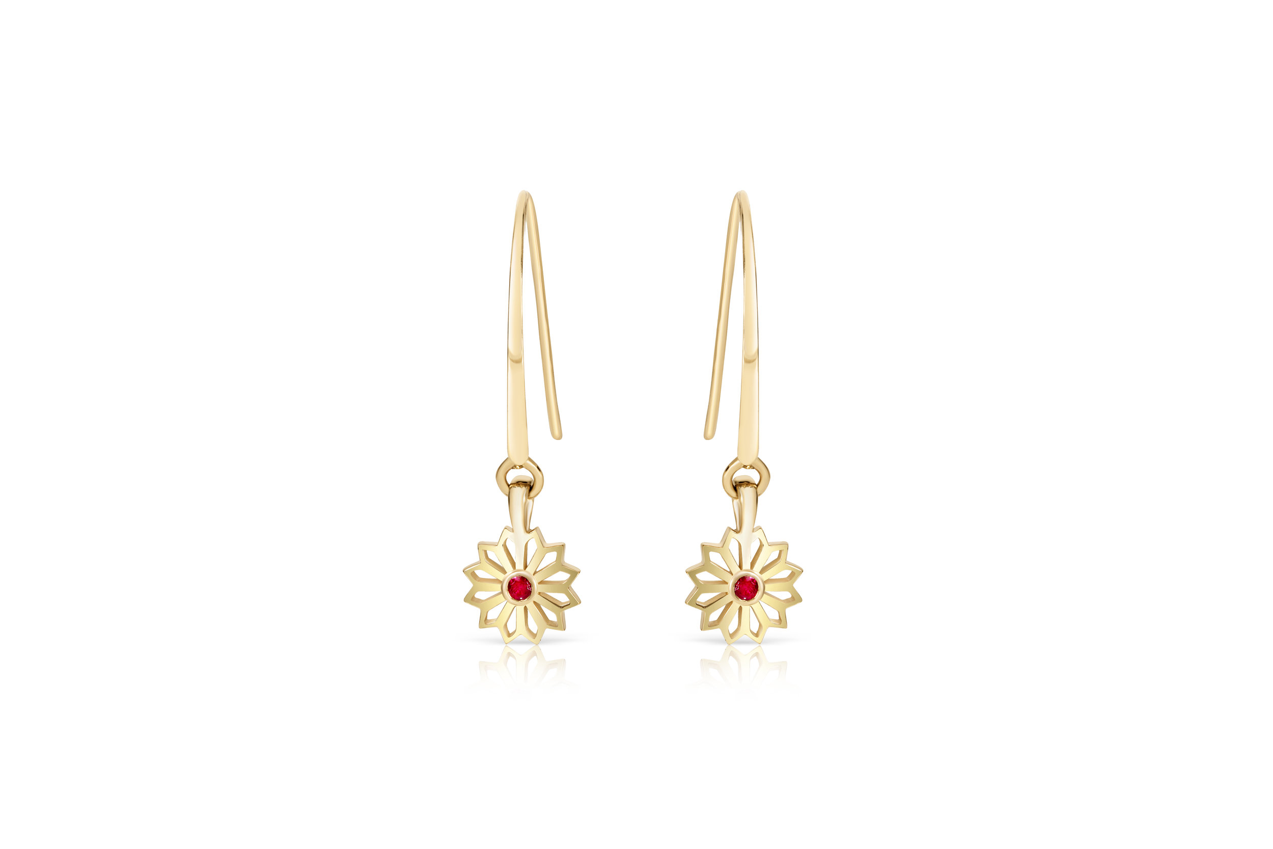 Flora Bhattachary Fine Jewellery Pushpa Drop Star Earrings Thin.jpg
