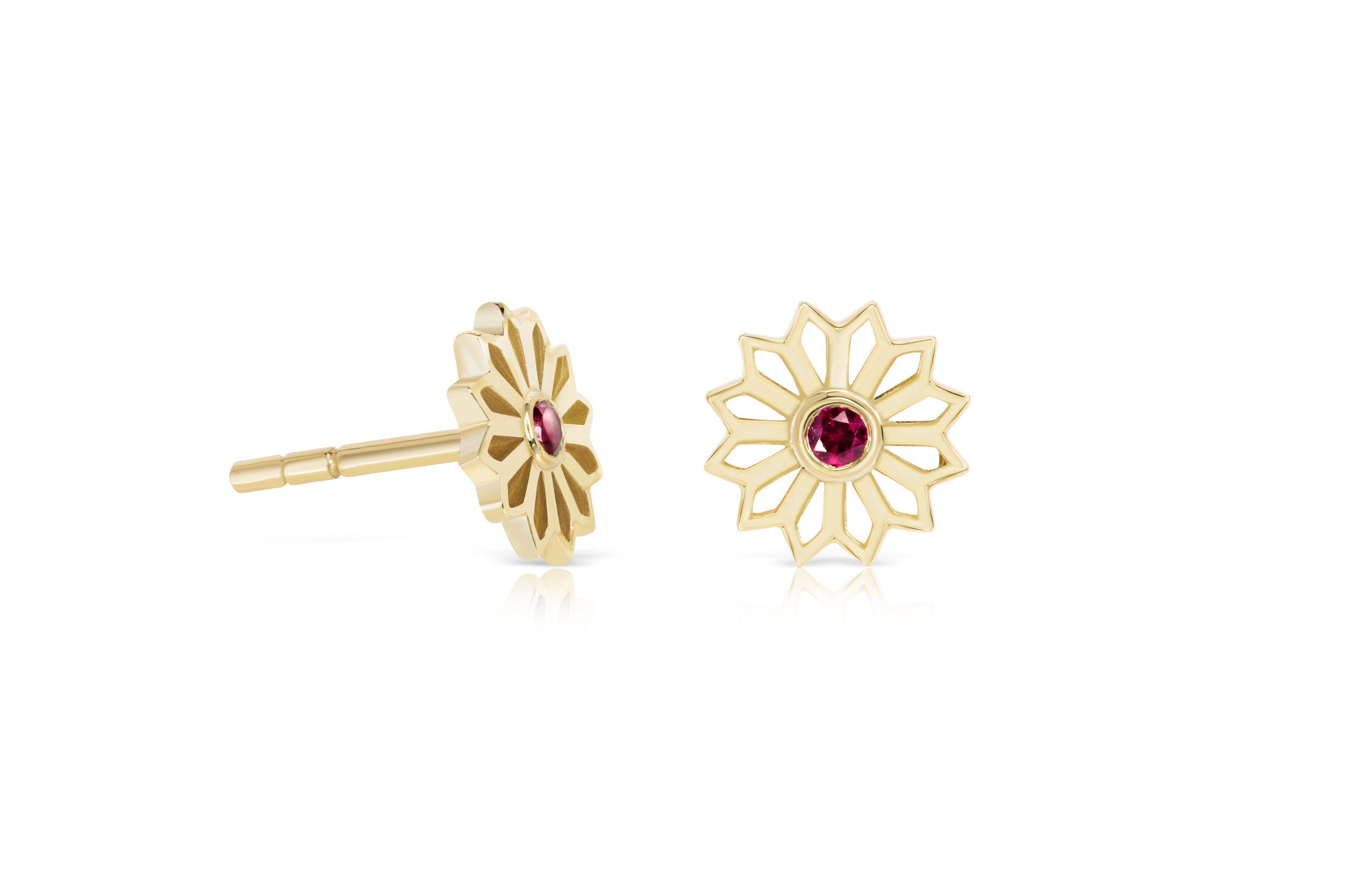 Flora Bhattachary Fine Jewellery Pushpa Studs 8mm.jpg