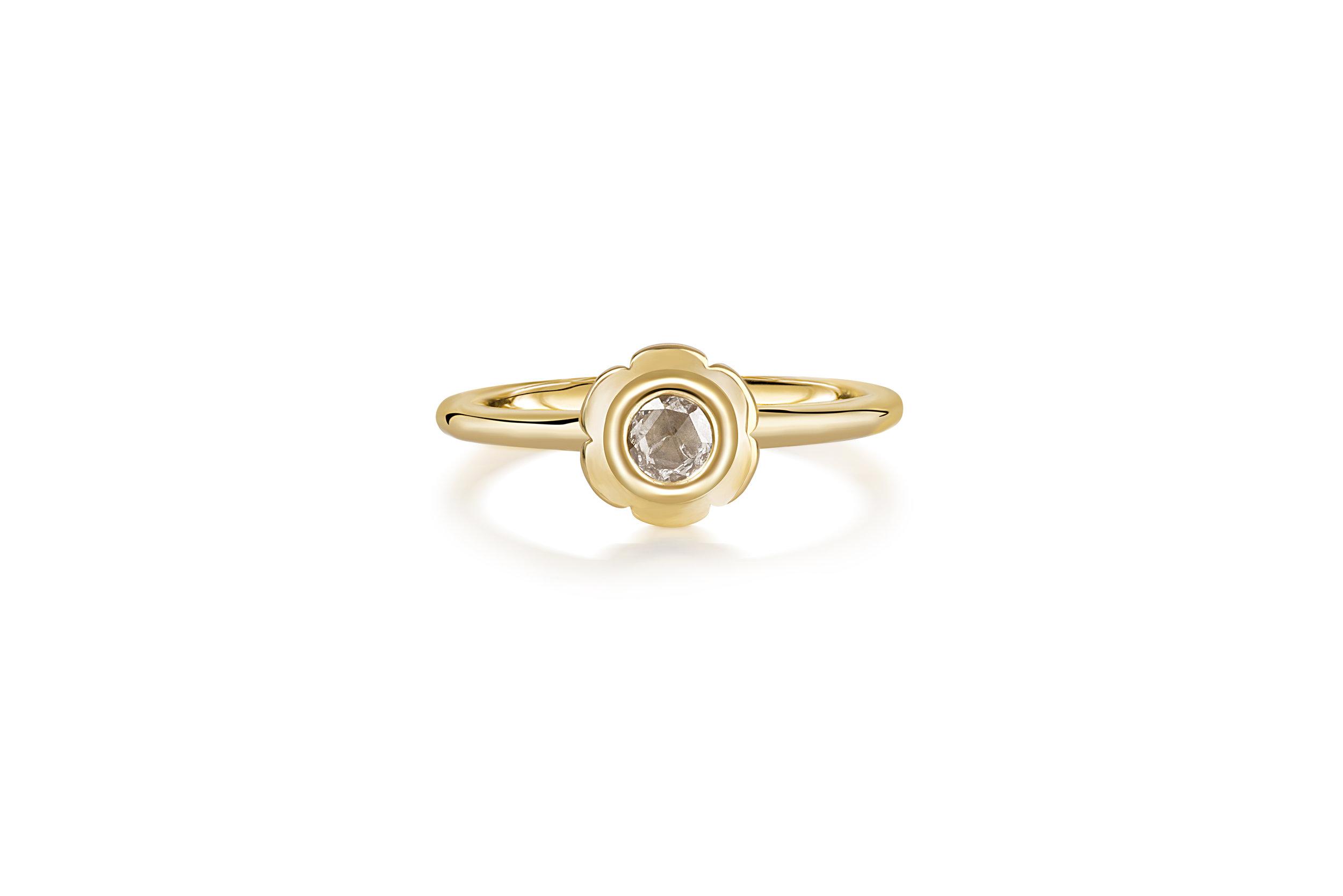 Flora Bhattachary Aditi Pankhuri Ring Rose Cut Champagne Diamond.jpg