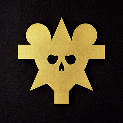 Oh, say!  (brooch) , 1991, gold by Otto Kunzli, one of the most renowned and respected jewellers working today.