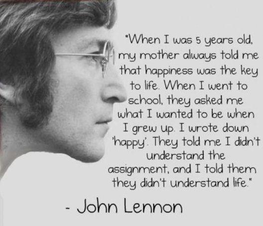 Inspirational artist & musician John Lennon