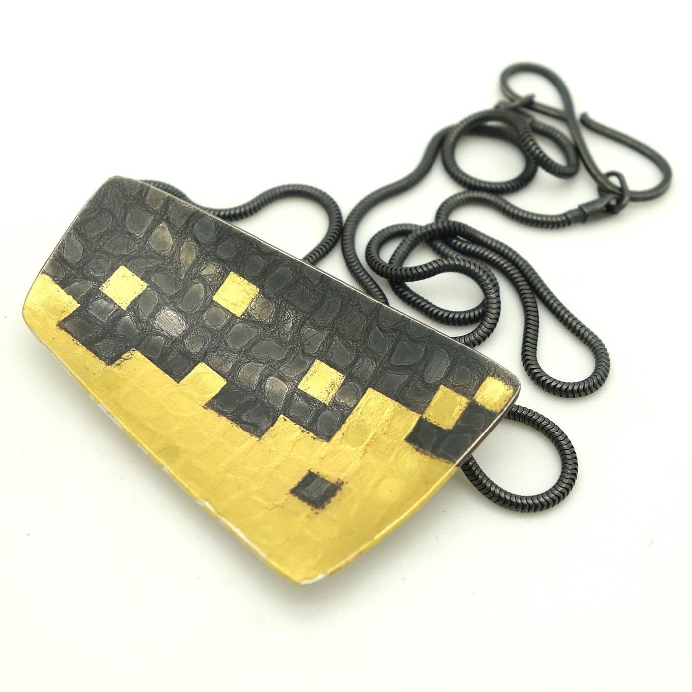 gill wing jessica briggs black damask pendant.jpg