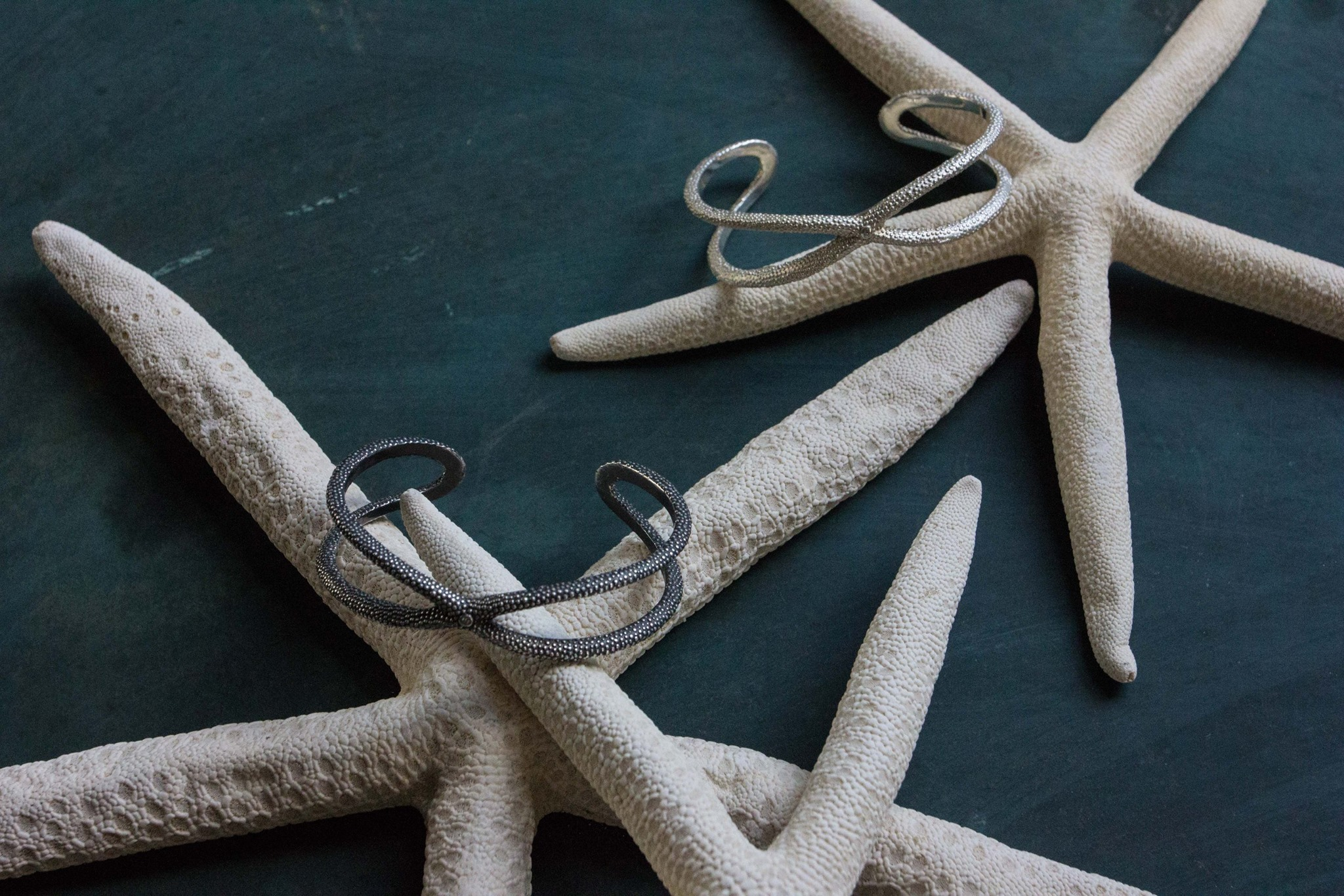 "Catherine's ""Starfish"" bangle inspired by sea creatures"