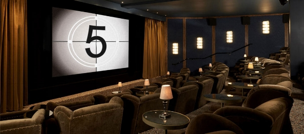 Electric Cinema, London could be inspiration for Catherine's cosy home cinema