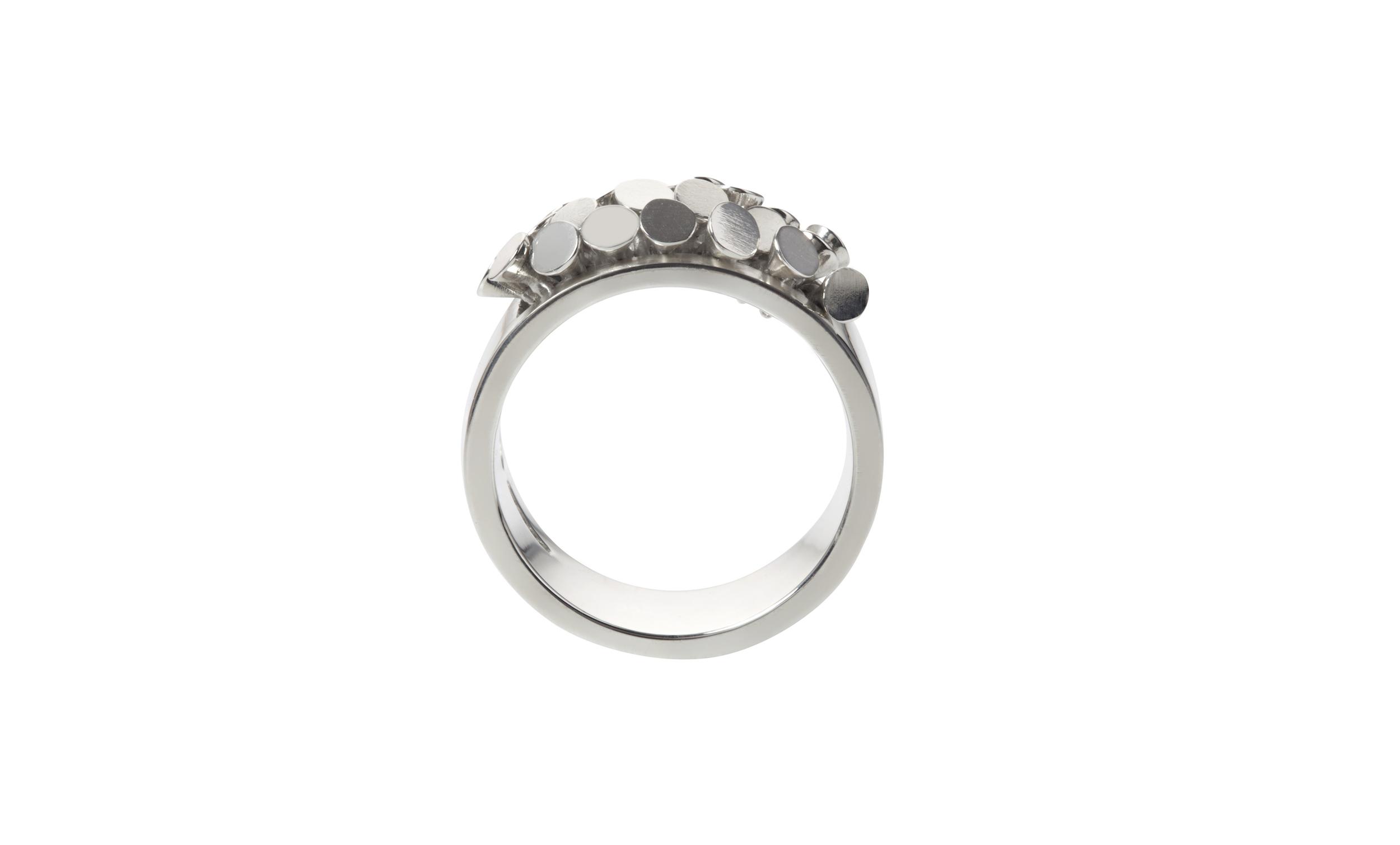 Sarah Pulvertaft Sequin Ruffle ring - silver 2.jpg