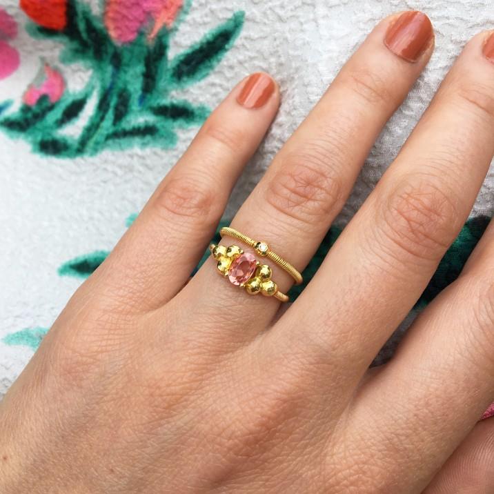 Liv Ring Pink Sapphire+ Ana Solo Ring.jpg