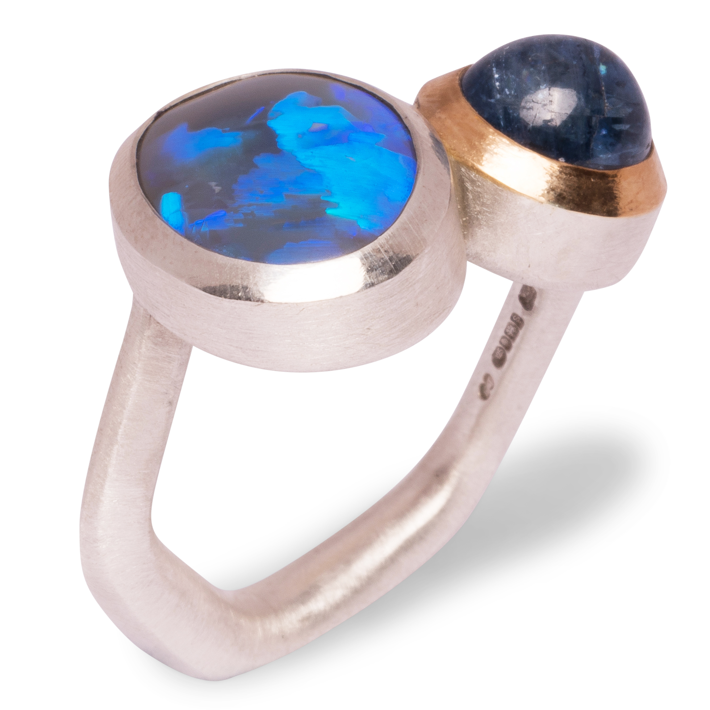 Emily Thatcher Silver & Gold ring