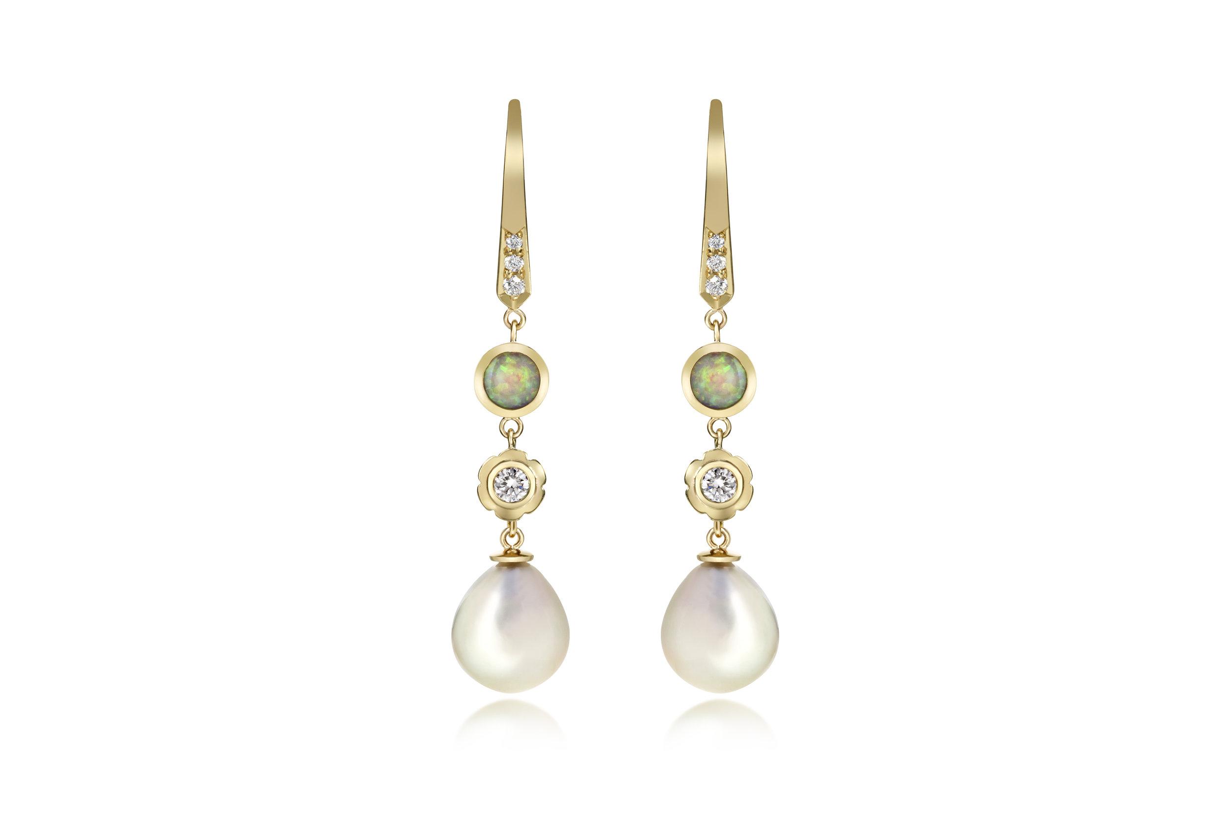 Flora Bhattachary Opal Diamond Tahitian Pearl and Gold Earrings.jpg