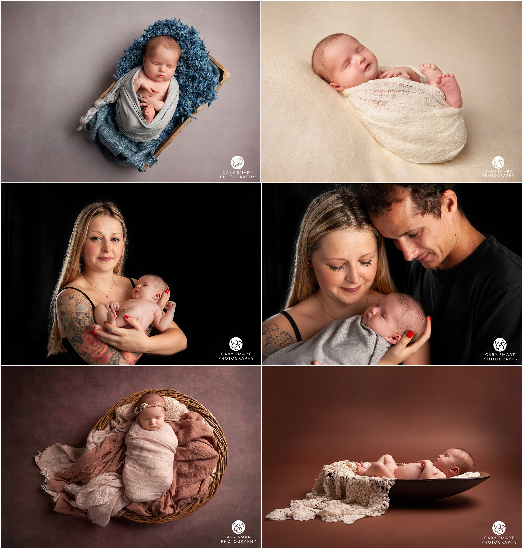 Newborn photo shoot Caldicot
