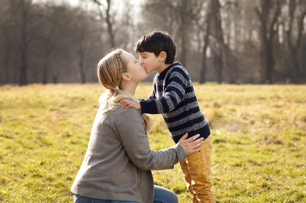 Parent and child photo shoots