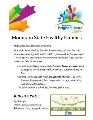 Mountain State Healthy Families