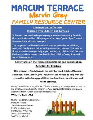 Marcum Terrace Family Resource Center