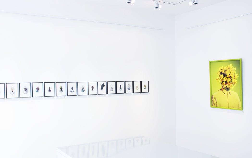 l'Esprit et Matiere at Galerie Hasy, Pouliguen August 2013