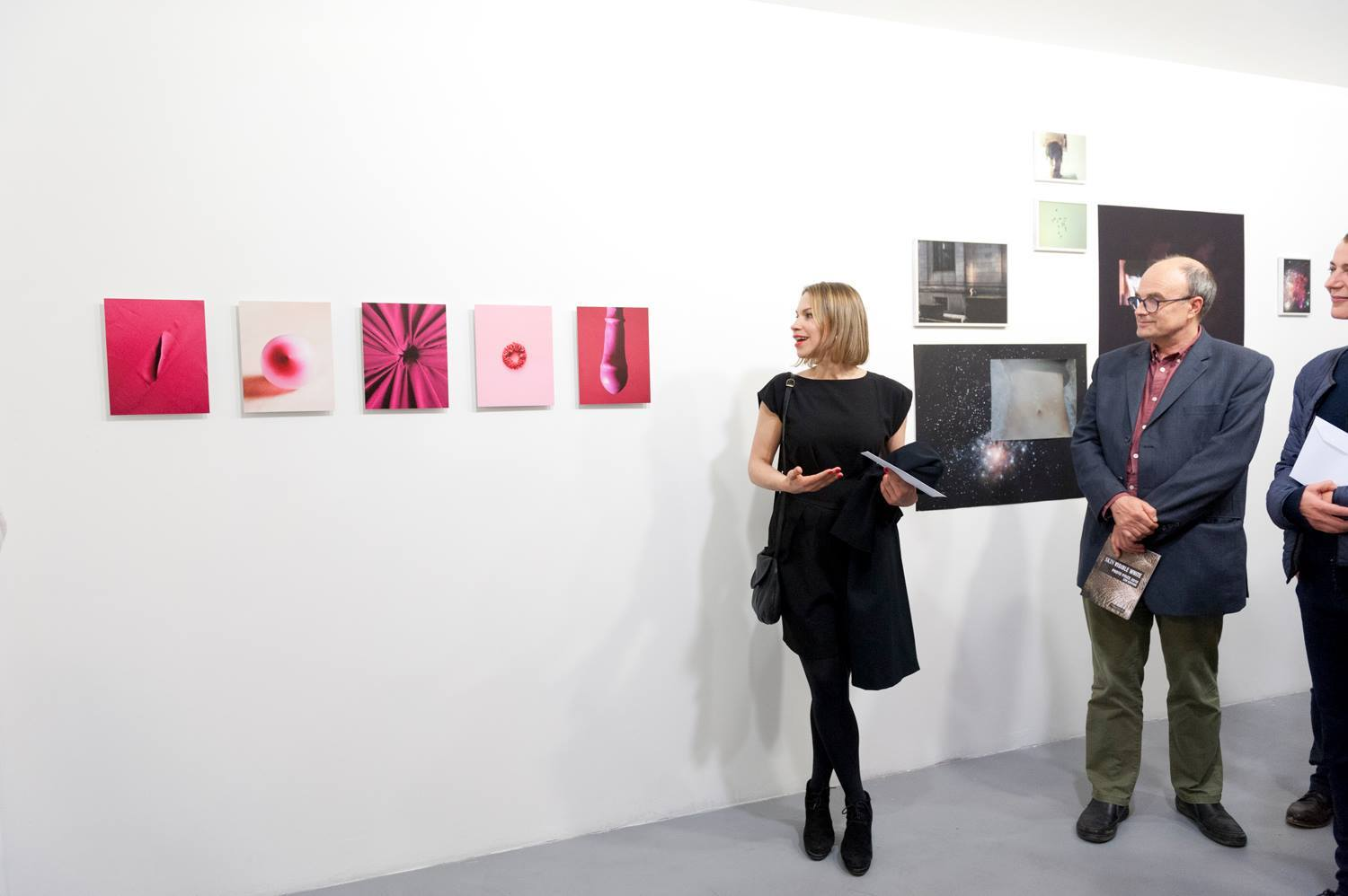 runner-up prize with my series Pink Parts -Thank you Florence! Celeste Network and Studio Marangoni!