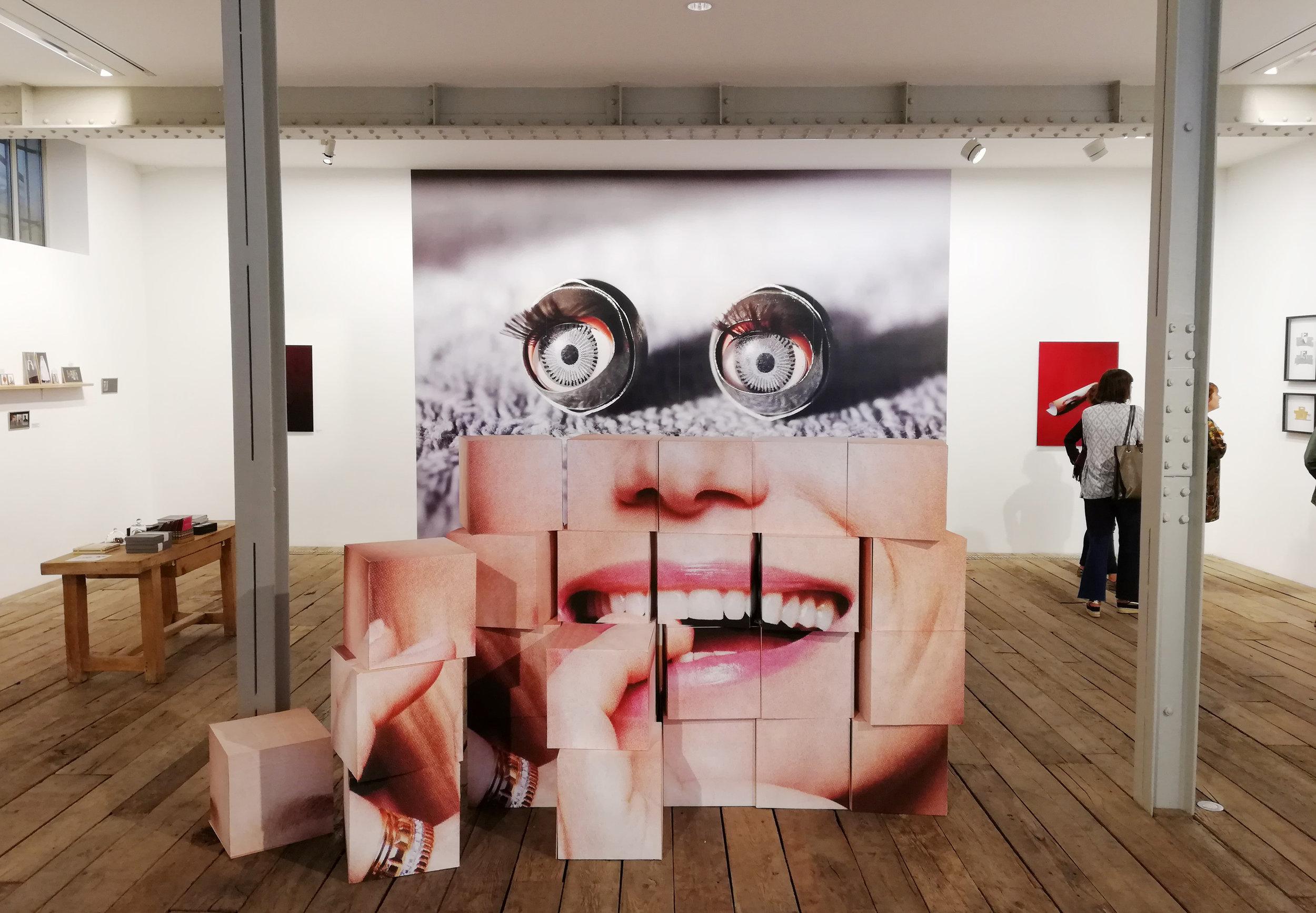 'RE-PLAY'  @ Galerie La Frontiera, Paris, 2018 Curators: Eric Chesnais & Nadia Banian