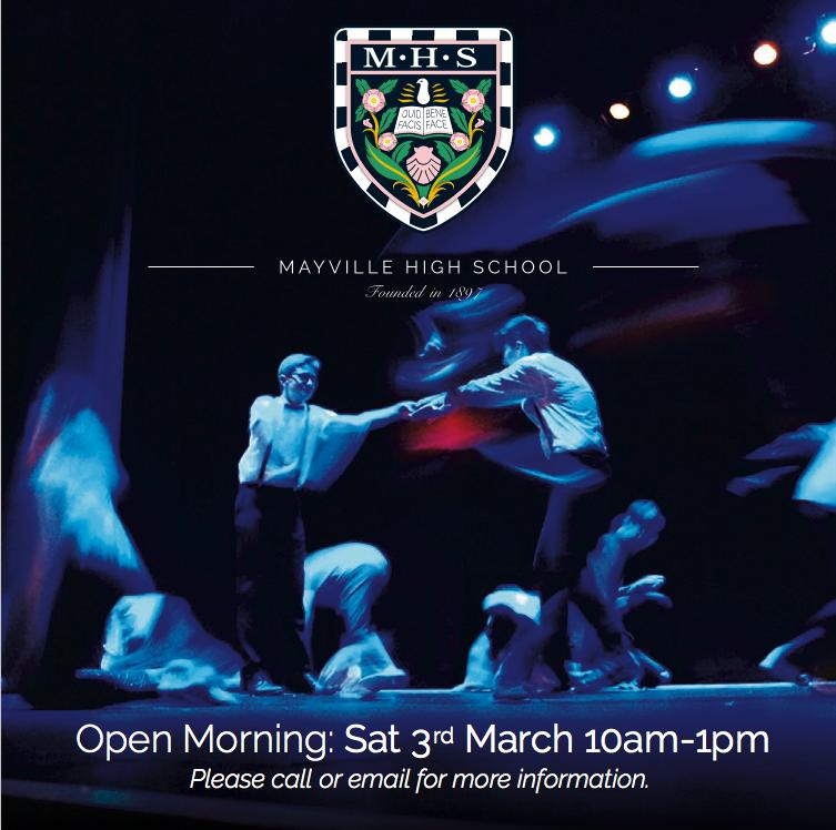 mayville high school open day march 2018