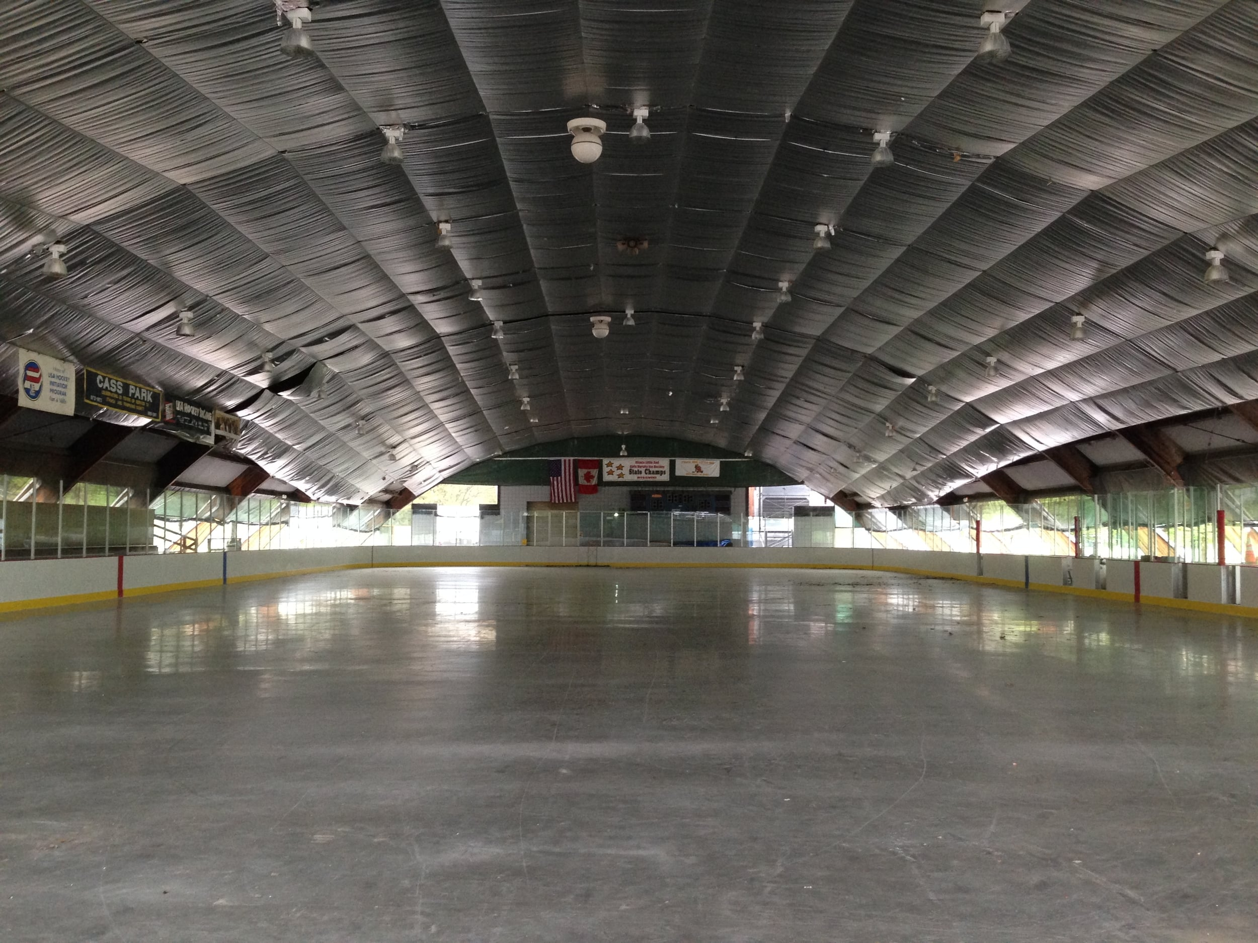 Cass Park Ice Rink, City of Ithaca