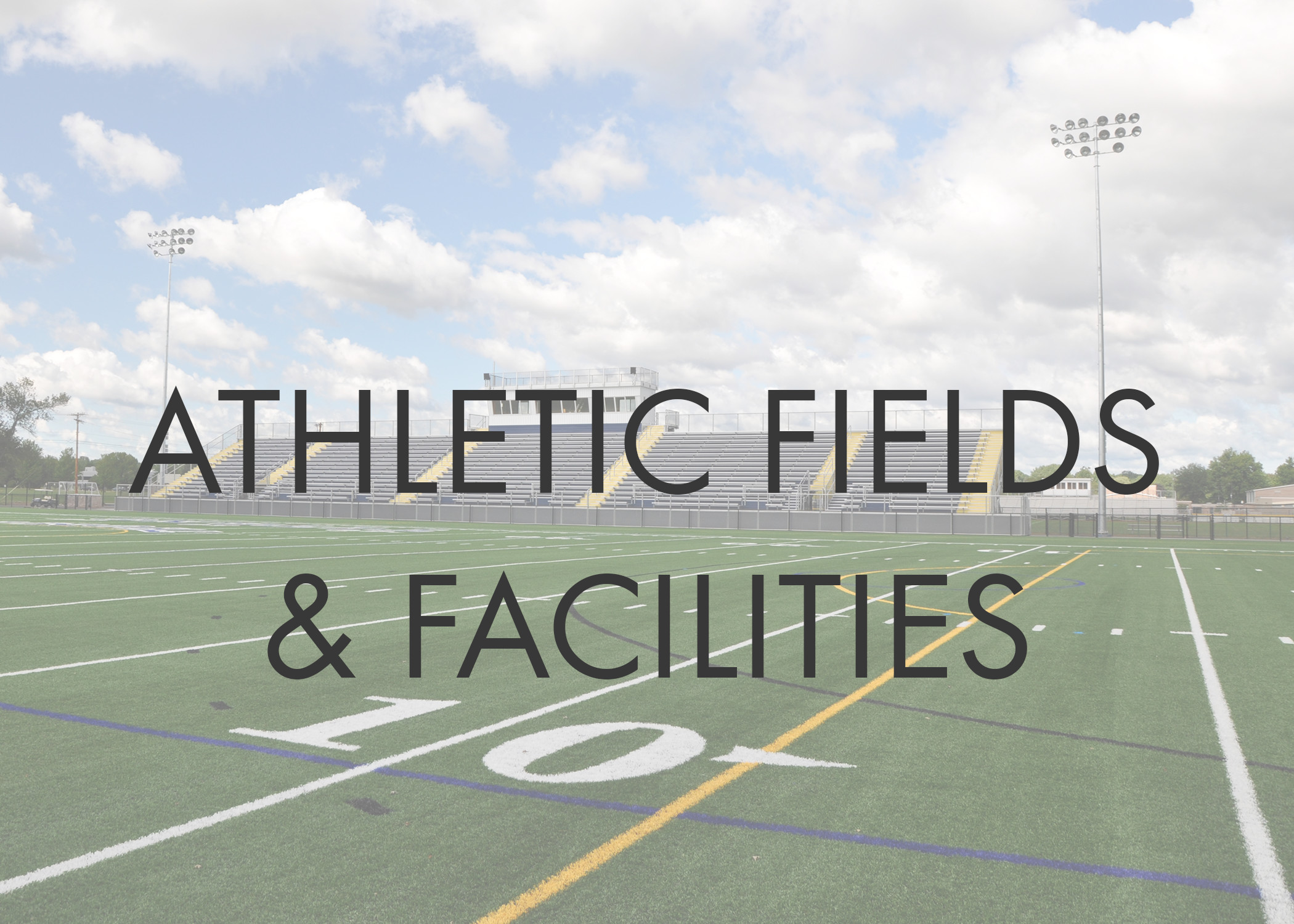 Athletic Field Design  -Synthetic Turf  -Natural Turf   -Seed   -Sod   -Irrigation   -Rehabilitation Athletic Track & Field Events Design Press Boxes Concession Stands Bleachers Feasibility Studies