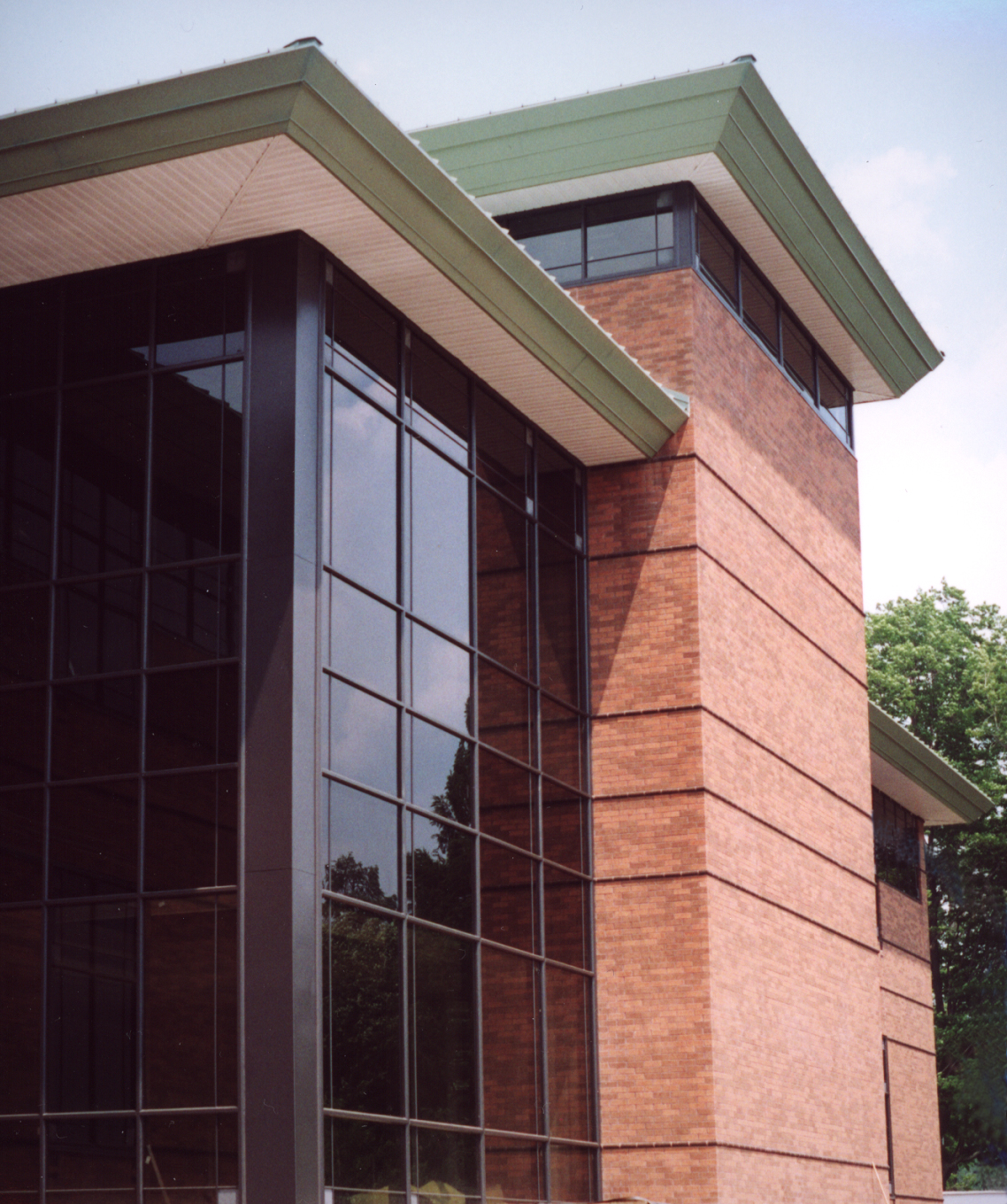 State University of New York IT Library Reading Room Exterior
