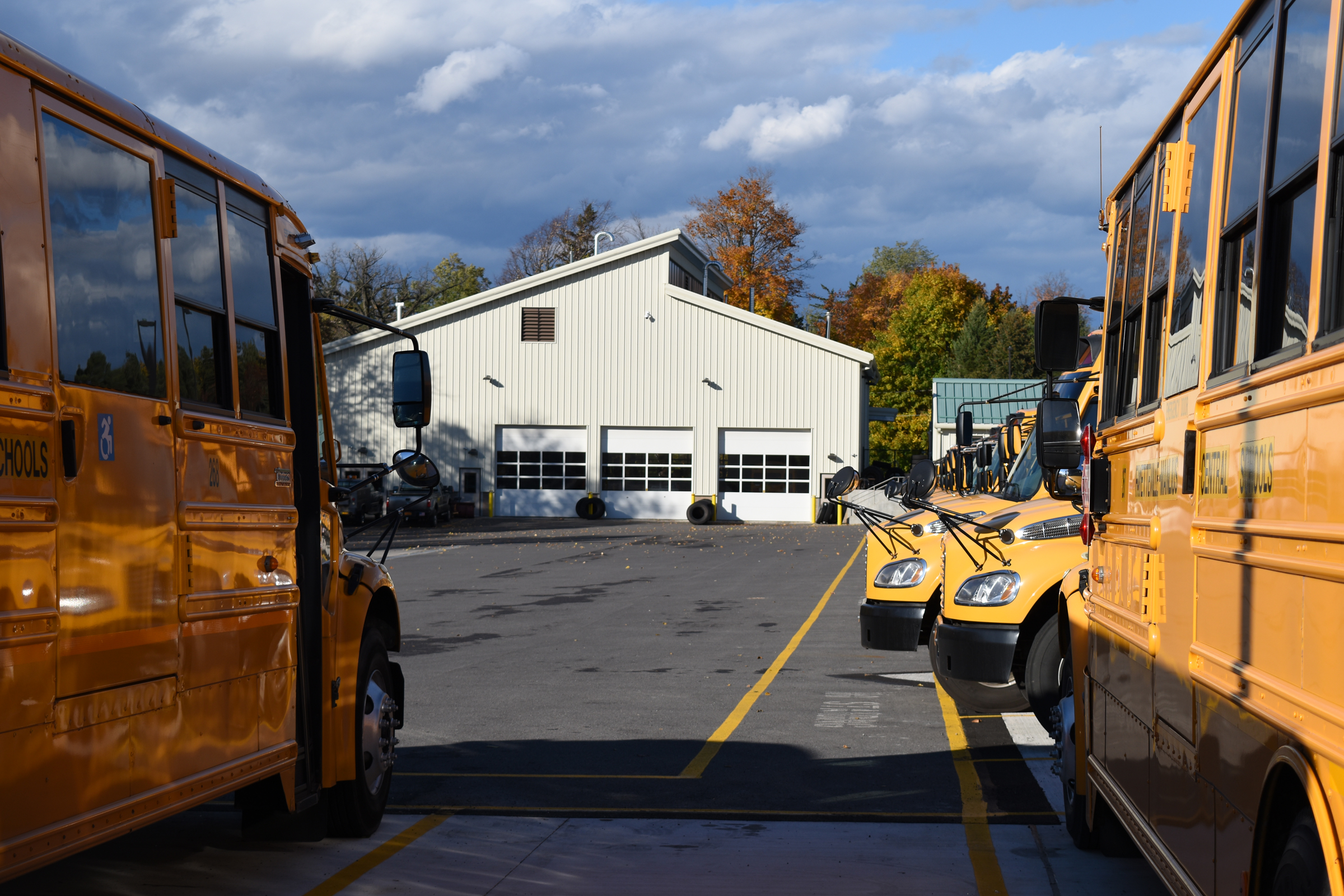 Fayetteville-Manlius Central School District Bus Garage Exterior