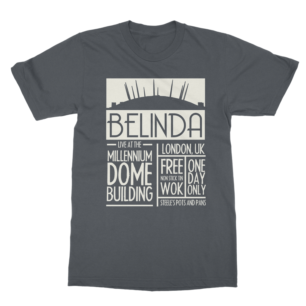 Belinda LIVE Tee £24.99 (Available in 11 Colours)