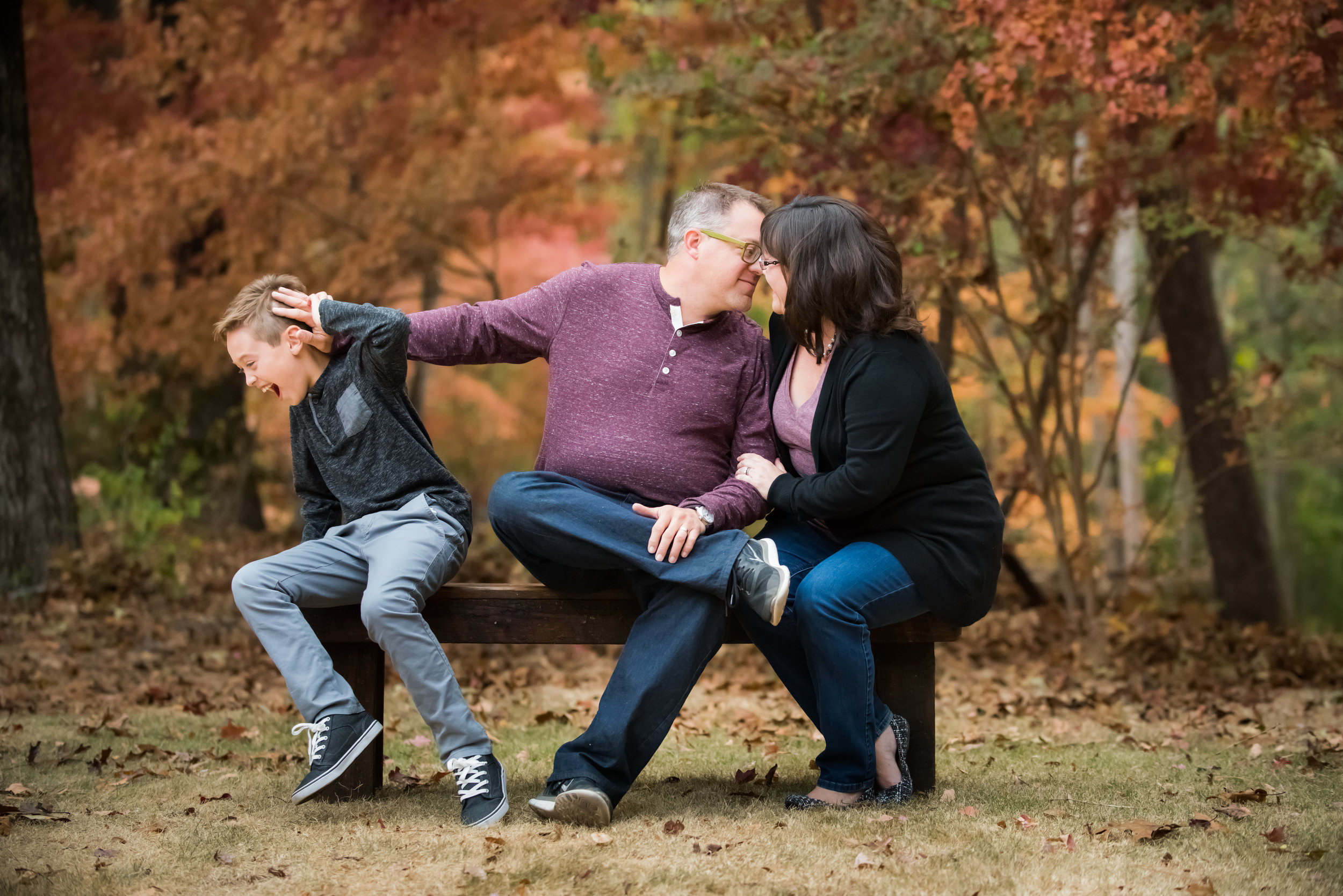 Our little family...photo courtesy of Allison Lewis  Will, John and Angela Deaver