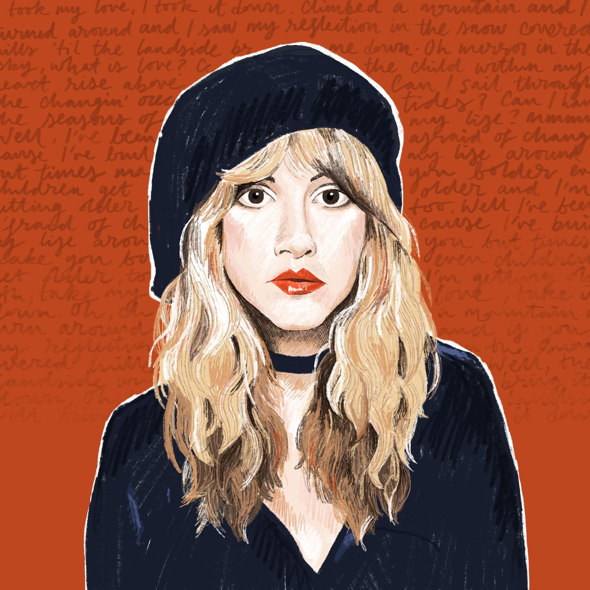 Portrait Challenge - Stevie Nicks