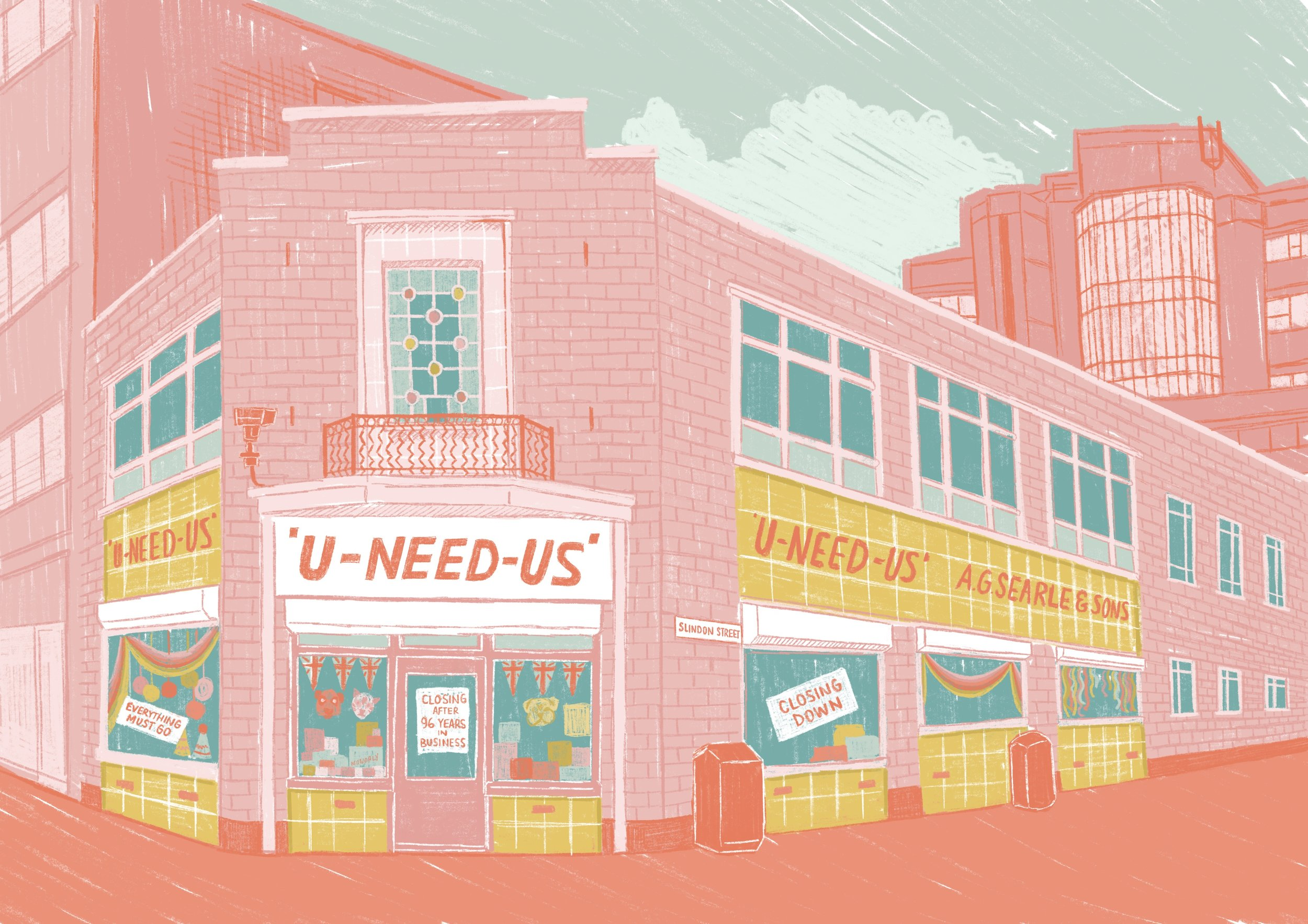Local Shops Project - U-Need-Us