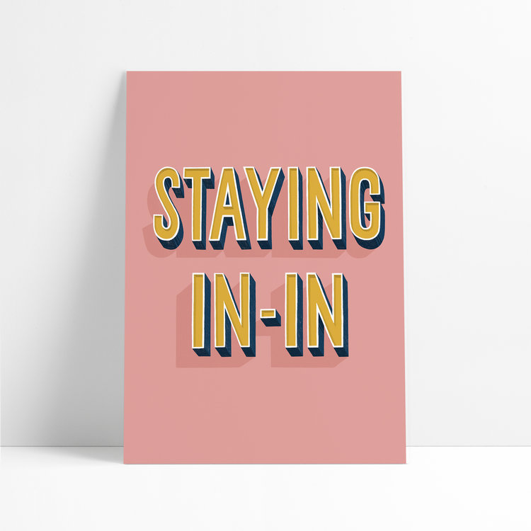 Staying In-In Print for Nine By Nine