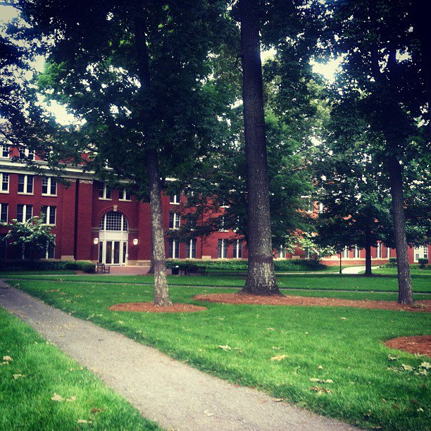 10 Places to Write: College Campus