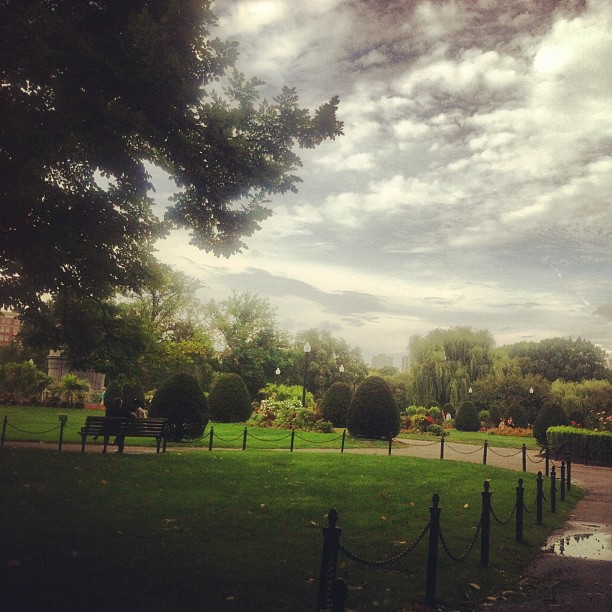 10 Places to Write #4: City Garden or Park