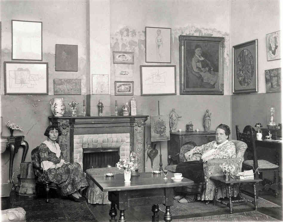 Stein and Alice B. Toklas in Paris