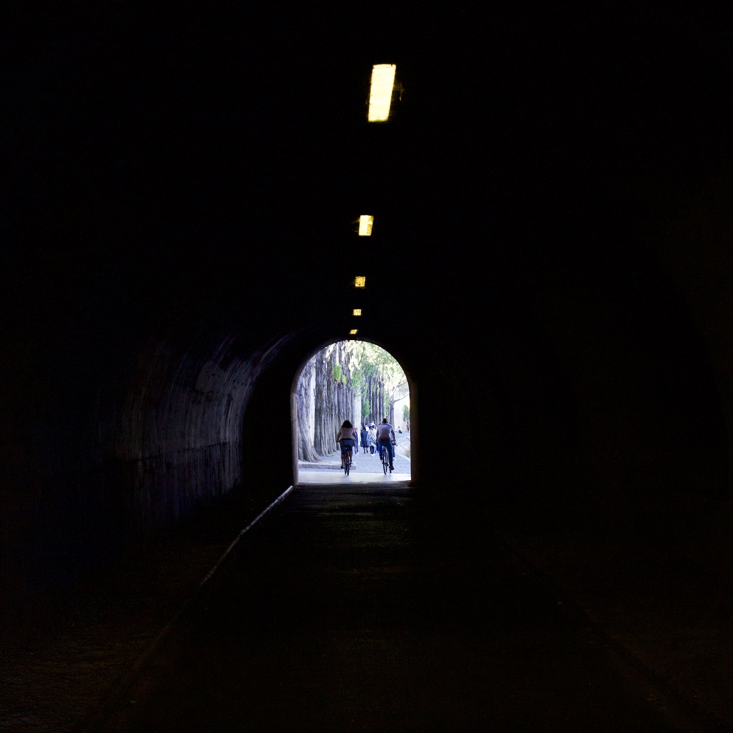 Pedestrian Tunnel Along the Seine