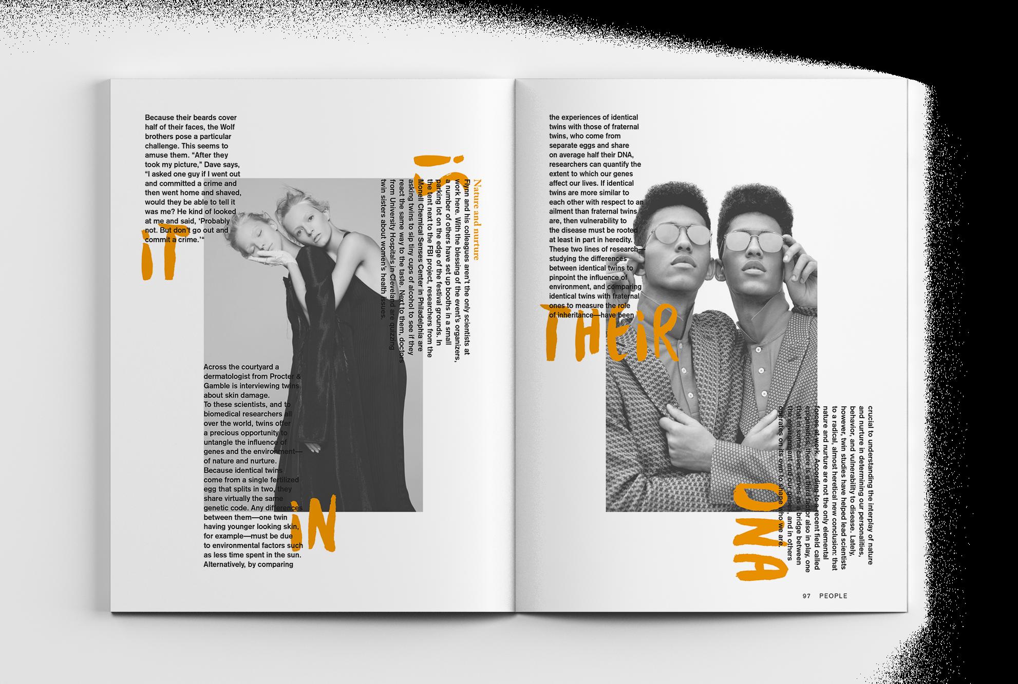 Yes No Magazine Concept Eszter Design
